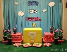 Dennis and Richelle's Super Mario Gender Reveal