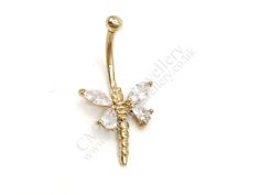 Gold Navel Bars-3