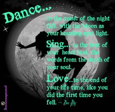 Dance... Original creation by DeeJay at Peace in the Mourning on FB.