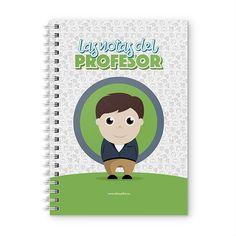 Cuaderno XL - Las notas del profesor, encuentra este producto en nuestra tienda online y personalízalo con un nombre. Notebook, Books, Teacher Notes, Notebooks, Store, Libros, Book, Book Illustrations, The Notebook