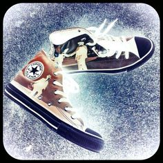 my Pink Floyd Converse All Stars Chucks