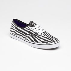 Vans Zebra Authentic Lo Pro