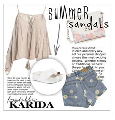 """""""Fratelli Karida"""" by vidrica ❤ liked on Polyvore featuring Sans Souci, Candie's and Ash"""