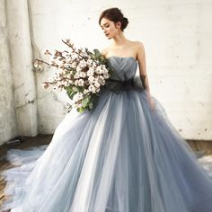 Pin on wedding dress Pin on wedding dress Ombre Wedding Dress, Luxury Wedding Dress, Colored Wedding Dresses, Perfect Wedding Dress, Bridal Dresses, Wedding Gowns, Wedding Bouquets, Corpse Bride Wedding, Western Wedding Dresses