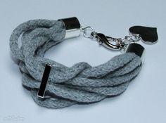 cotton rope bracelet