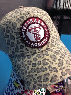 Back at the Ranch - Texas A & M Bling Cap
