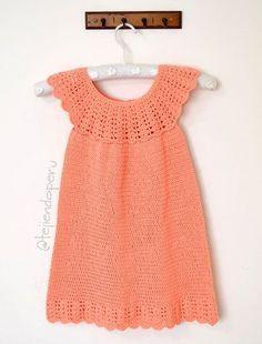 Crochet Baby Dress Pattern, Crochet Patterns, Crochet Girls, Crochet Top, Croptop Crochet, Girls Dresses, Summer Dresses, Baby Dresses, Microcar