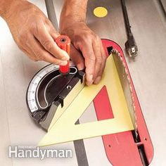 Want perfect end cuts every time? We'll show you how to get them on your table saw. Follow these tips, tricks and techniques to make straight cuts and angle cuts in almost any sized lumber. Get your table saw ready now so you can make perfect cuts on your next project.