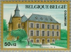 Sello: Castles - Colonster (Bélgica) (Castles) Mi:BE 2248,Sn:BE B1045,Yt:BE 2196,Bel:BE 2196