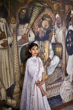 bollywoodhqs:       Aditi Rao Hydari for Anita Dongre's 'Love Notes' Campaign