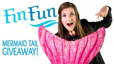 Fin Fun Mermaid Tail Giveaway! (March 21 - May 1)