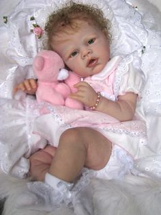 """Reborn Baby Doll """"NEW RELEASE"""" Angelina by ROMIE STRYDOM now""""Sabrina"""""""