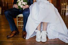 Trendy bridal high t