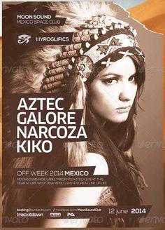 aztec memorial day party