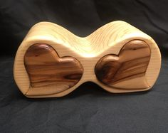 ***SOLD*** Pine wood bandsaw jewelry box with heart shaped drawers. Woodworking Joint Types, Woodworking Joints, Woodworking Plans, Woodworking Projects, Workbench Plans, Woodworking Patterns, Woodworking Magazine, Bandsaw Projects, Jewellery Box Making