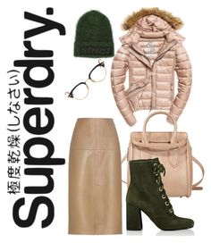 """The Cover Up – Jackets by Superdry: Contest Entry"" by ralugoii on Polyvore featuring Superdry, Fuji, Alexander McQueen, Thom Browne, Alexander Wang, By Malene Birger and Prada"