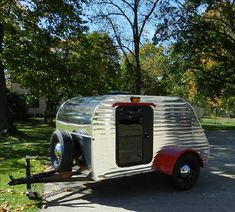 5 x 8 Teardrop Trailer... kind of want this!