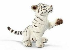 $2.18 Tiger Cub white, playing by Schleich