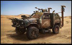 Mad Max Jeep by Milkduster on DeviantArt