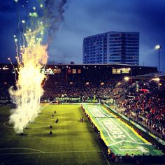 Timbers Game Opening Night #Timbers #PTFC