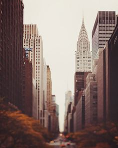 I want to live in New York City for one part of my life\ except not during winter