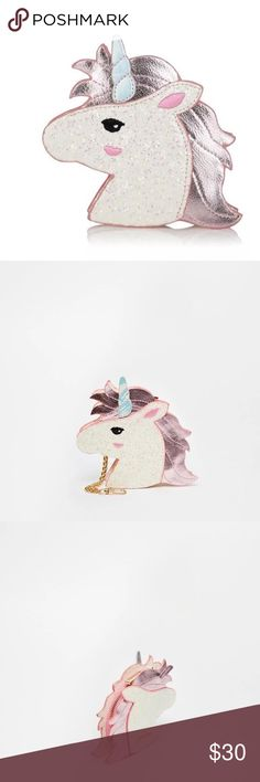"⚡️SALE⚡️new ASOS skinny dip unicorn coin purse Brand new super cute unicorn coin purse from Skinny dip from ASOS. Dimensions about 6"" x 6"" x 1.5"" ASOS Accessories Key & Card Holders"