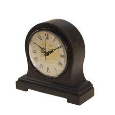 American Mercantile Wood Mantle Clock & Reviews | Wayfair