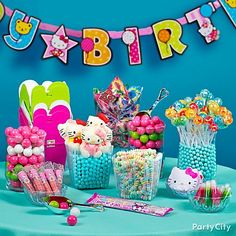 10 Sweet Ideas for a Fabulous Candy Buffet-Party City