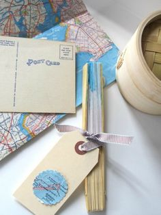DIY Vintage Map Wedding Fan – DIY Weddings