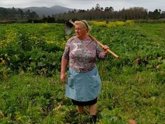 Donald Trump has a look-alike — and she's a Spanish potato farmer. And probably has bigger balls than him.