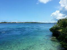 A photo lookjng into Harrington Sound from #FlattsInlet #Flatts #Bermuda