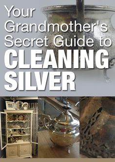 Read through the time-tested and reliable suggestions from our lovely Hometalk users. Diy Home Cleaning, Cleaning Hacks, All Natural Cleaners, How To Clean Silver, Cleaning Silver Jewelry, Folded Book Art, Home Economics, Homekeeping, Diy Cleaners