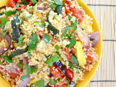 Couscous dish