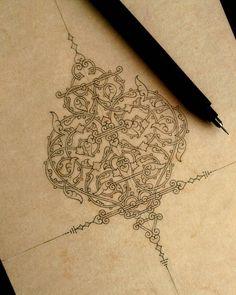 Excellent Drawing Faces With Graphite Pencils Ideas. Enchanting Drawing Faces with Graphite Pencils Ideas. Islamic Art Pattern, Pattern Art, Illumination Art, Persian Motifs, Arabic Calligraphy Art, Turkish Art, Flower Tattoo Designs, Art Sketchbook, Mandala Art