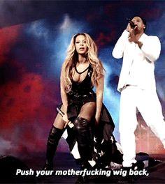 "Beyoncé & Jay "" I'm An Outlaw, Got An Outlaw Chick"" On The Run Tour 2014 ( 1 )"