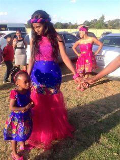 Best Xitsonga Dresses African Traditional Wedding Dress, African Wedding Dress, African Weddings, African Wear, African Dress, African Fashion, Tsonga Traditional Dresses, Traditional Outfits, Traditional Weddings