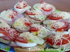Kuchnia domowa Ani: Niedzielne kanapki Sushi, Ale, Ethnic Recipes, Food, Gastronomia, Ale Beer, Essen, Meals, Yemek
