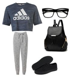 """""""Everyday/26"""" by aneeciyapinkgirl on Polyvore featuring adidas, Related and Vans"""