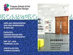 #OpenDay #fashion #schoolofart #cracow #photography #design