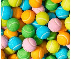 Pastel Coloered Tennis Balls #color #FF #photooftheday #L4L #followback