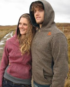 Harris Tweed Hoodies