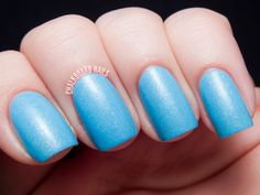 KBShimmer Blogger Collection for Winter 2013 Swatch and Review