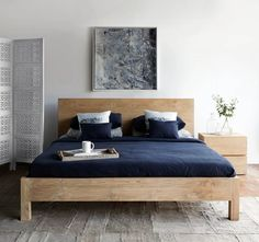 Wake up to a cozy morning everyday on our Priuli Bed!  Shop Now! http://originals.com.sg/products/priuli-bed-whitewash