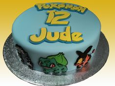 Pokemon Cake by The Coloured Bubble Cakery - Find us on Facebook!!