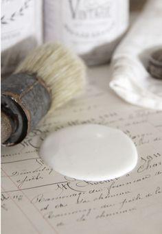 Vintage Furniture Paint Jeanne d´Arc Living Warm cream, Hemmet, Hem Fina Hem