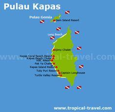 Pulau Kapas - Malaysia´s schönste Inseln - Reiseführer Malaysia