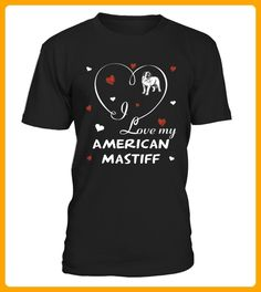 I love my American Mastiff - Maus shirts (*Partner-Link)