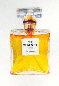 Chanel nº5 Art Print