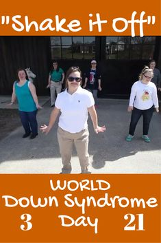 These amazing people with Down syndrome dance their hearts out to Taylor Swift Shake it Off to celebrate differences, disabilities, and special needs on World Down Syndrome Day. This is AWESOME!! Times infinity!