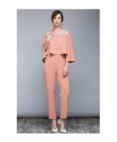 Get ready to start blushing. Snag this off the shoulder jumpsuit while they last. Flaunt your impeccable style this season with the form fitting off the shoulder jumpsuit in the hot blush shade. Off Shoulder Jumpsuit, Off The Shoulder, Jumpsuits, Jumper, Hot, Collection, Dresses, Style, Fashion